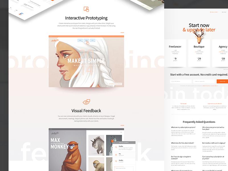 ViewFlux web view flux site prototyping feedback design
