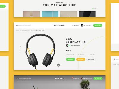Hifi Base site web amplifier speaker headphone base hifi