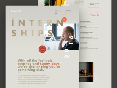 Interships