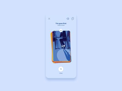 Closer App question illustration app ux ui design game closer