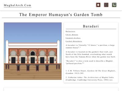 Baradari at MughalArch.com