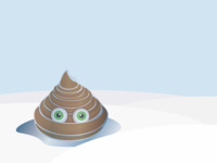 Frozen Poop