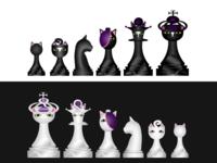 The Ninjacat Chess Set