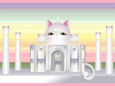 Ninjacat Taj Mahal