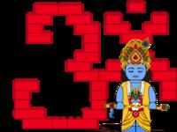 Lego Krishna