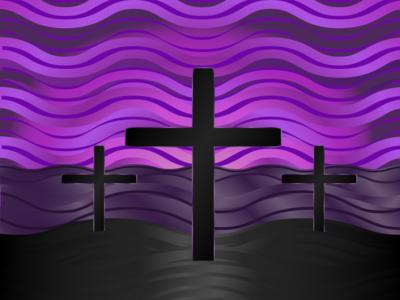 Lent Clipart-Calvary