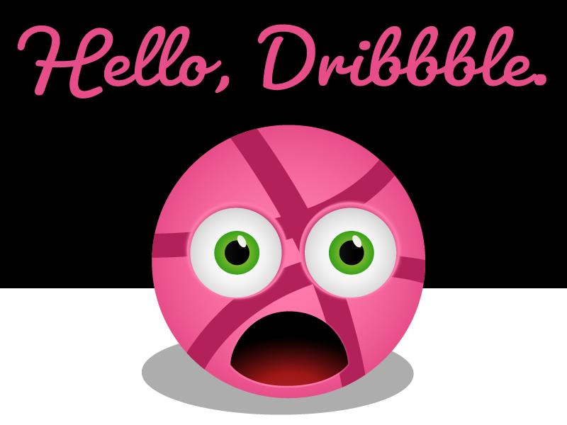 Hello Dribbble nina garman hello dribble