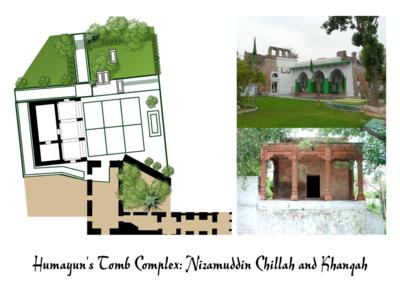 Humayun's Tomb Complex: Nizamuddin Chilla and Khanqah