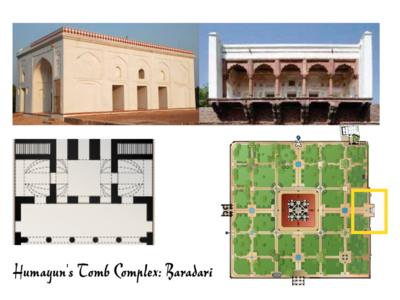 Humayun's Tomb Complex: Baradari