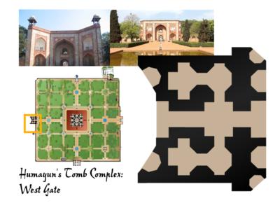 Humayun's Tomb Complex: West Gate