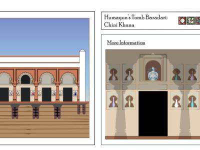 Humayun's Tomb Garden: Chini Khanna MughalArch.com