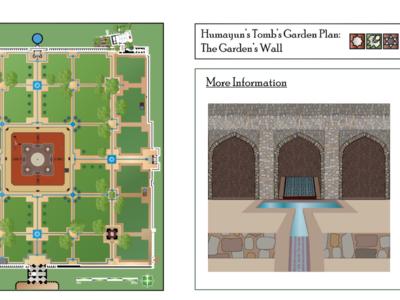 Humayun's Tomb's Garden Wall MughalArch.com