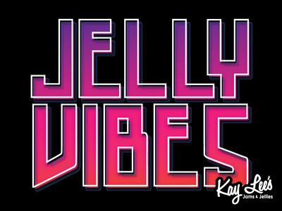 Jelly Vibes indiana branding logo jams jelly fun