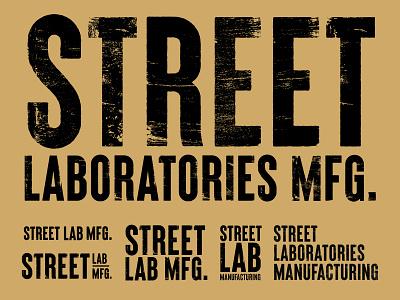 New company logo rebrand (maybe). street lab indianapolis design t-shirt indiana branding logo