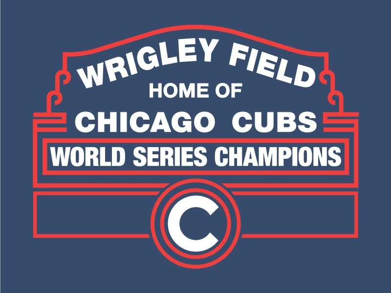 Cubs World Series Champions cubbies 1870 northside chicago cubs