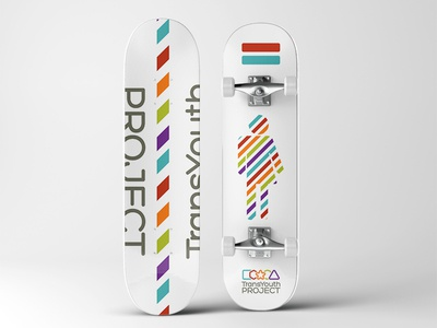 Trans Youth Project skateboard