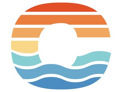 CAMP lettermark letterform design indianapolis branding logo camping camp