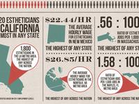 Esthetician Infographic