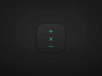 Calzy 2.6 | Icon  ios iphone app ui ux clean calculator simple ios8