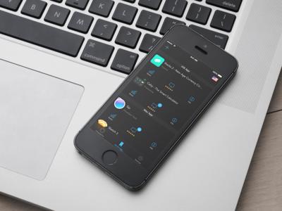 AppHop ios8 developer app apple itunes clean ux ui iphone ios