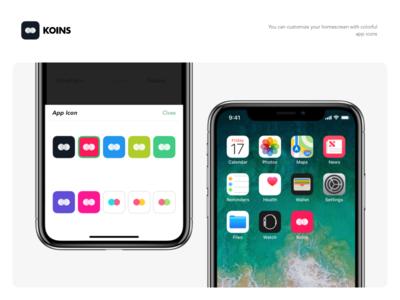 Koins - App Icons