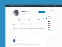 Linked In Profile Redesign