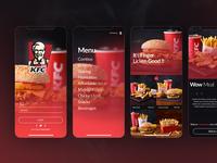 KFC App Re design