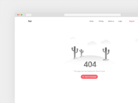 404 Page parallax effect on mouse movement