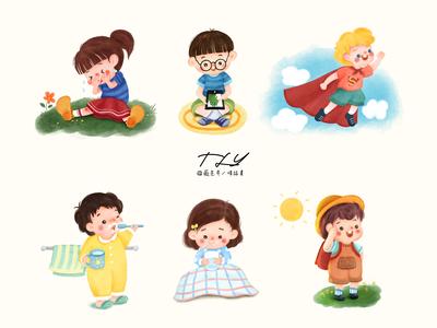 Cute Children collection