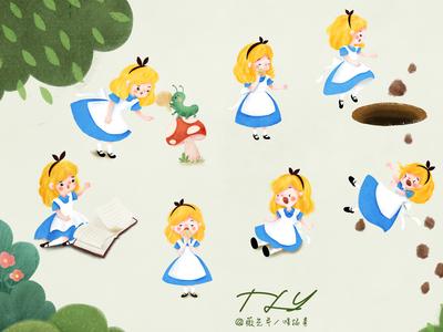 Alice character design