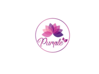 Purple cosmetic logo