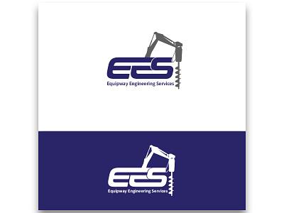 EES Logo Design adobe photoshop design icon logo photoshop vector illustration vector