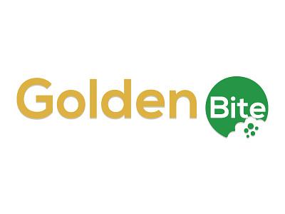 Golden Bite Logo adobe photoshop logo vector ai photoshop photoshop vector illustration effect