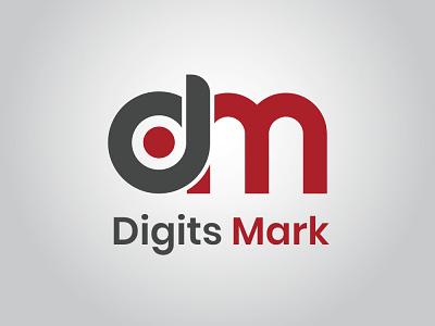 digits mark logo design vector ai photoshop photoshop vector design logo illustration vector