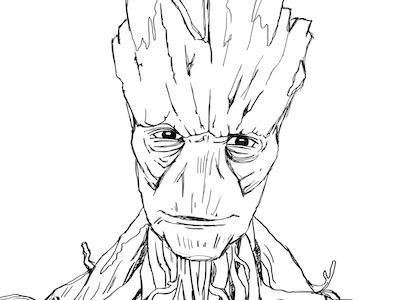 Groot By Marcel Heymann Dribbble Dribbble