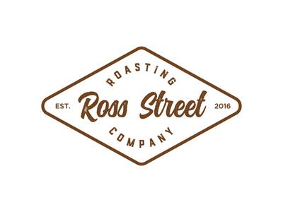 Diamond roasting logo