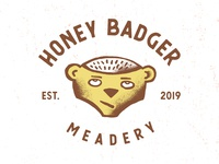 Honey Badger Meadery Logo