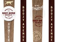 Boozy Avenue Tap Handle