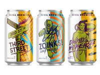 Iowa Brewing Cans