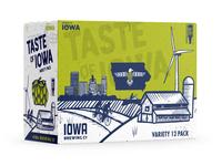 Iowa Brewing Co. Variety 12 Pack Box