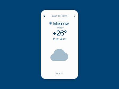Plumpy Weather Icons app after effects wind rain cloud sun weather animation motion graphics