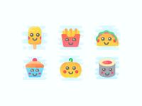 Cute Clipart Kawaii Food