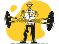 Taxi Illustrations: 404 Page Not Found