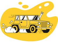 Taxi Illustrations: Success