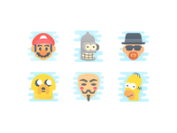 Cute Clipart: Characters