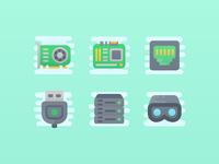 Cute Clipart: Computer Hardware