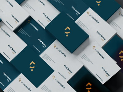 Enzi Creative Business cards