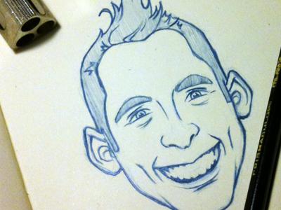 Caricature Sketch caricature sketch pencil drawing cartoon illustration vector retro sticker photoshop ekindesigns