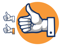Hand Drawn Icons - Thumbs Up