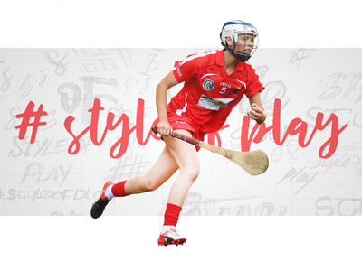 #styleofplay artwork sport retail ireland hurling graphic gaa fashion design branding